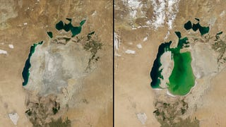 How the Soviet Union destroyed the fourth biggest lake in the world