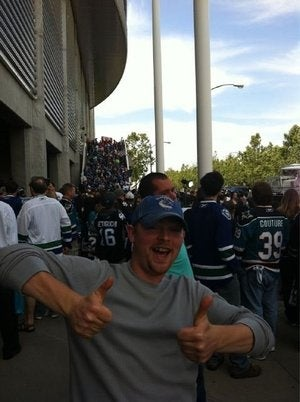 The Canucks Fan Who Drove 1,000 Miles For A Game, Partied With The Owner, Drank With Beautiful Women, Nearly Died, And Got Comped For Game 5