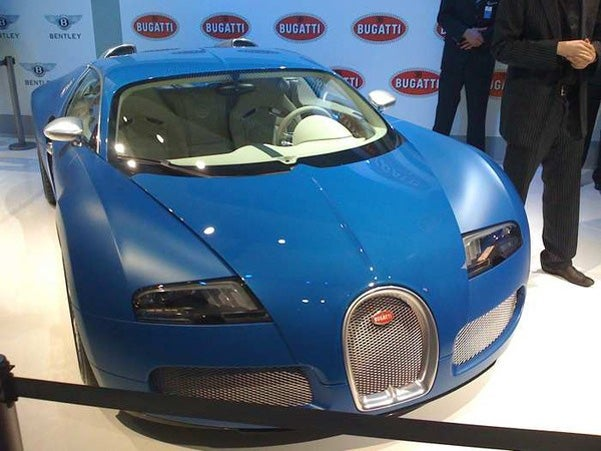 Bugatti Veyron Bleu Centenaire: Exclusive First Photo!