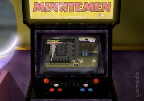 Minutemen Arcade Takes Us Back to a Time That Never Was