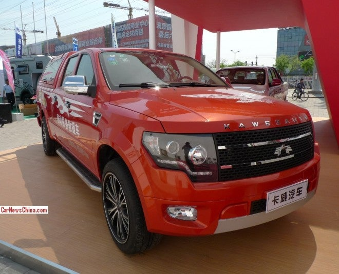 The Kawei K1 Is A Diesel, Manual, Shameless F-150 Knockoff From China