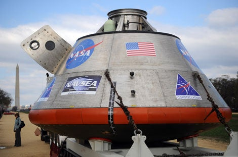 See the New Orion Spacecraft Up Close and Personal