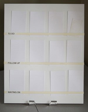 Create a Note Card Task Board on the Cheap