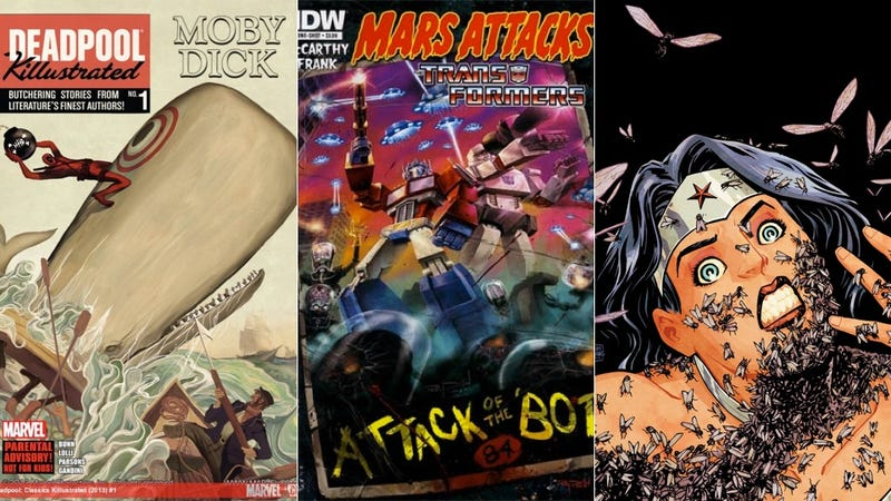 Try These New Comic Books This Week