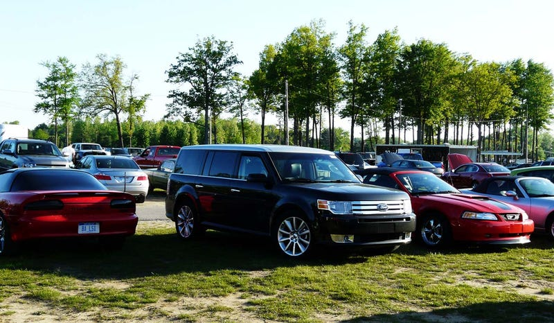 EcoBoost Goes Drag: Ford Flex, Lincoln MKS Hit The Strip