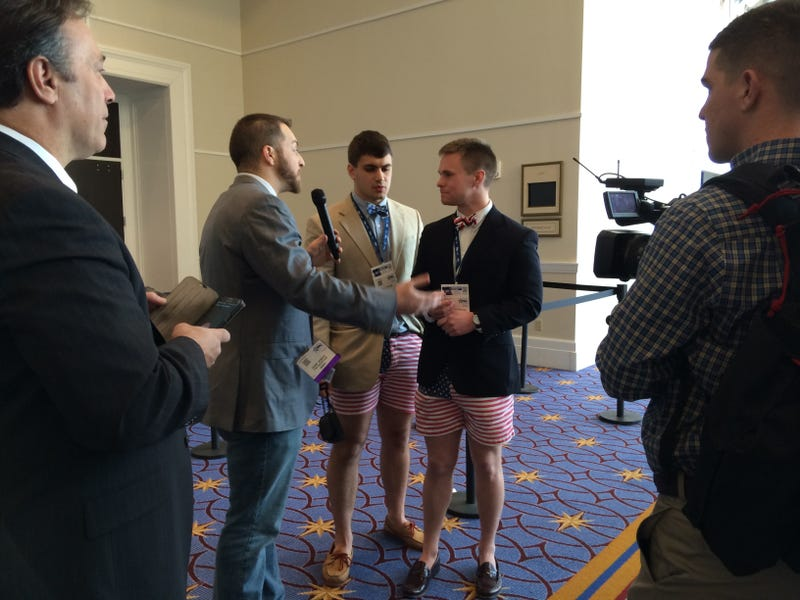 Pizza Patriots: Day One at CPAC