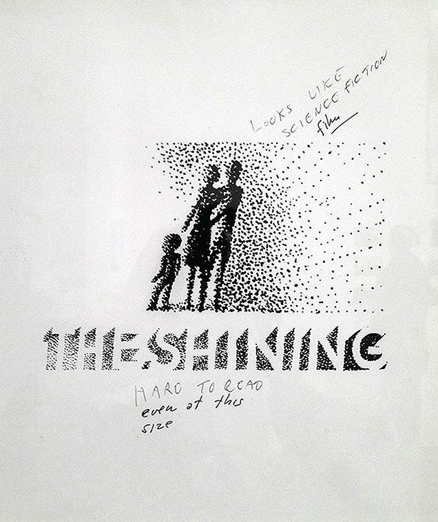 Making the poster of The Shining was as intense as the movie itself