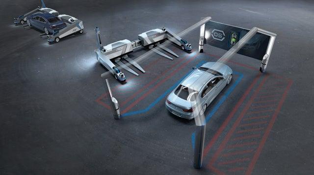 This Autonomous Forklift Is Your Robotic Parking Concierge