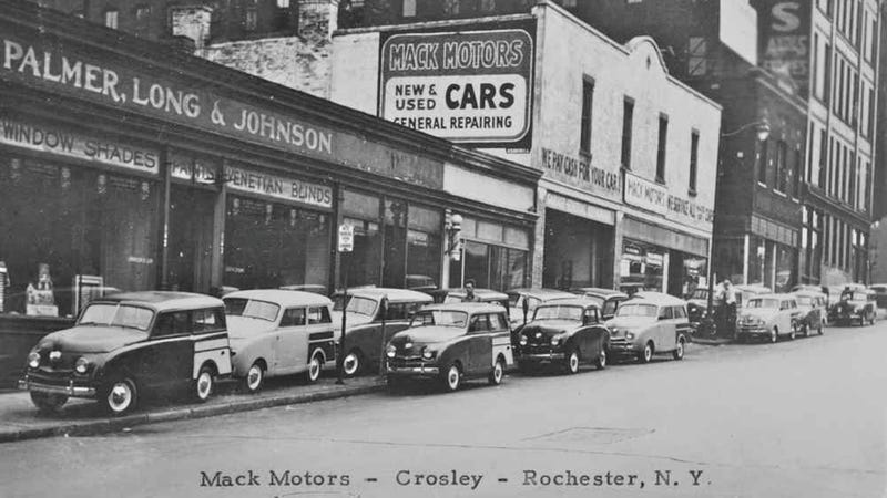 A Crosley dealership circa 1948