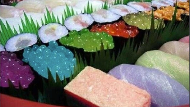This Sushi Looks Disgusting, Colorful