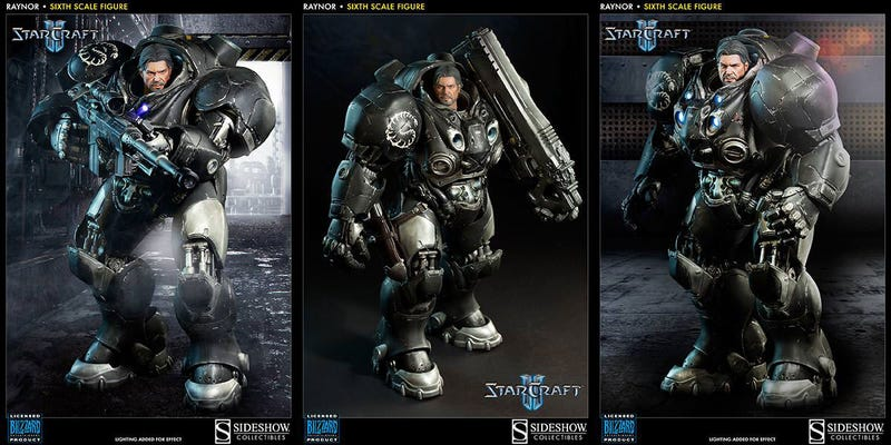 Giant StarCraft Figure Is A Work Of Art
