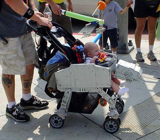 Star Wars Stroller Gives Lucky Kid Galactic Treatment