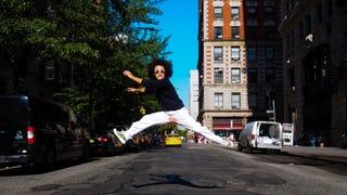 JUMPING : .
