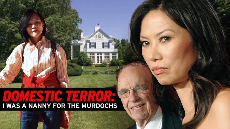 'It Was Like a War Zone': A Former Nanny for Rupert Murdoch and Wendi Deng Speaks Out