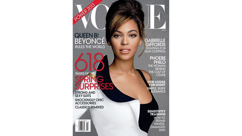 Vogue's 'Queen B' Cover Isn't All That Regal
