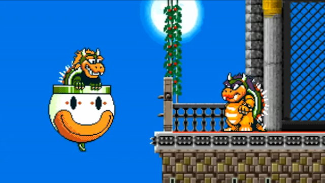 Bowser's Wife Seems Like The Brains Of The Family