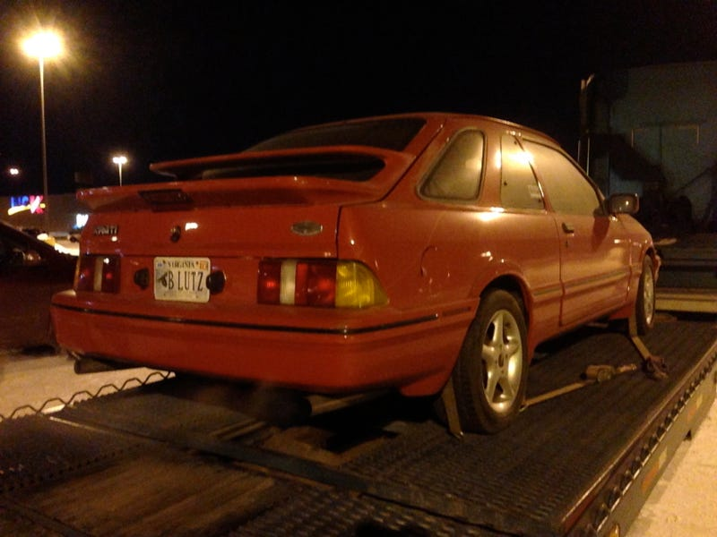I Bought Matt Hardigree's Top Gear Merkur XR4Ti