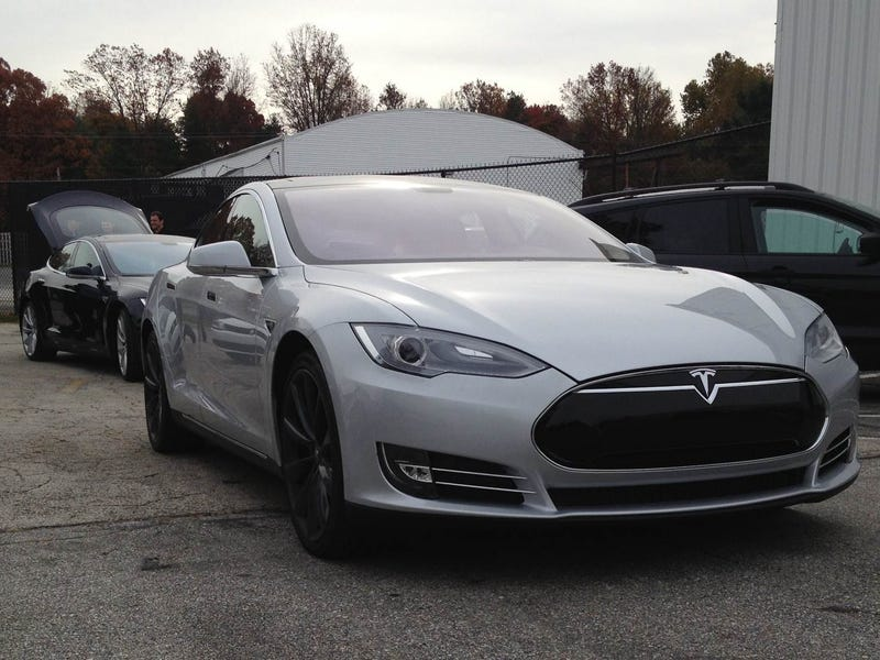 I Drove This Tesla Model S on a Runway
