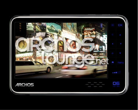 Archos 606 is their First 3G-Equipped PMP