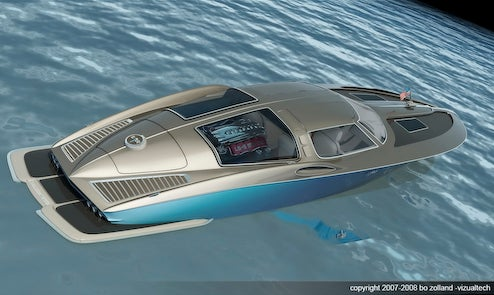 1963 Corvette-Inspired Speedboat Takes Retro To Sea