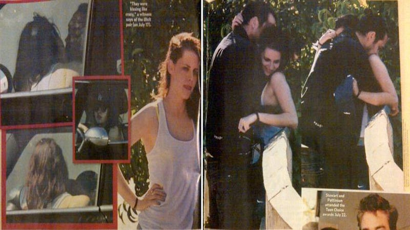 Kristen Stewart Sorry For Sucking Face With Old Human Instead of Young Vampire Boyfriend