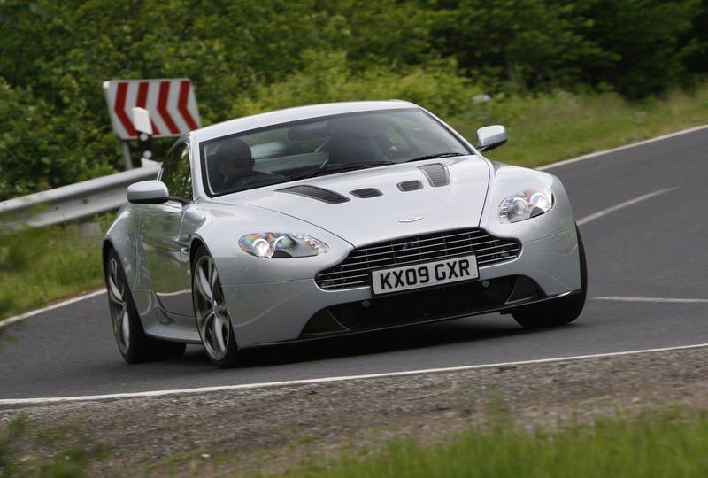 2010 Aston Martin V12 Vantage: Driven