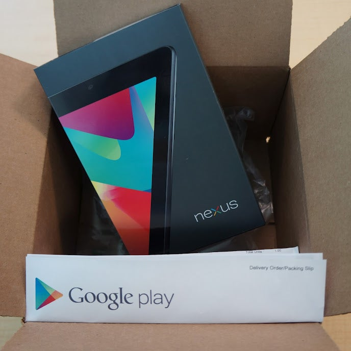 The First Nexus 7 Is Shipping Today