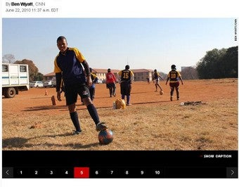 South Africa's Lesbian Soccer Team Has World Cup Fever