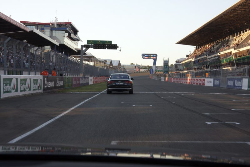 This Is What It's Like Doing 130 MPH At The Le Mans Circuit