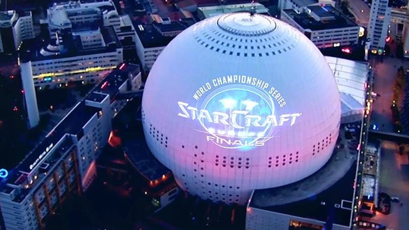Look At The Impressive Globe That Will House The World Championship StarCraft II Finals