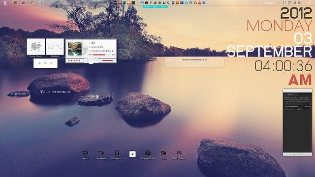 The Lagoon Desktop
