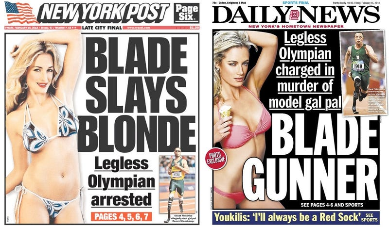 Media Somehow Find Way To Sell Boring Story Of World-Famous Olympian Charged With Murder