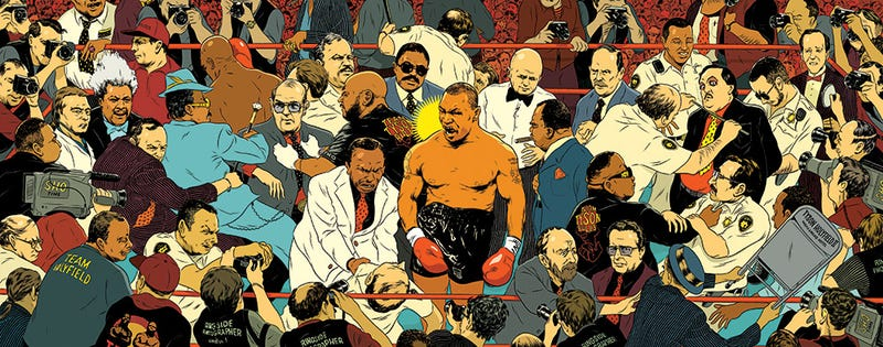 The Amazing, Vivid Sports Artwork Of Mickey Duzyj