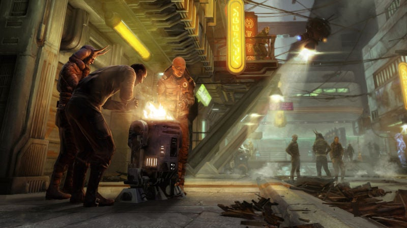 The Art Of 1313, A Star Wars Game We Never Got To Play