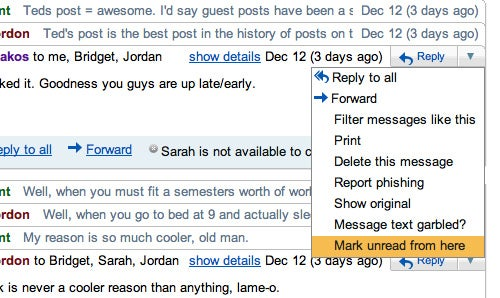 "Gmail Labs Adds ""Mark Unread from Here"" for Long Email Threads"