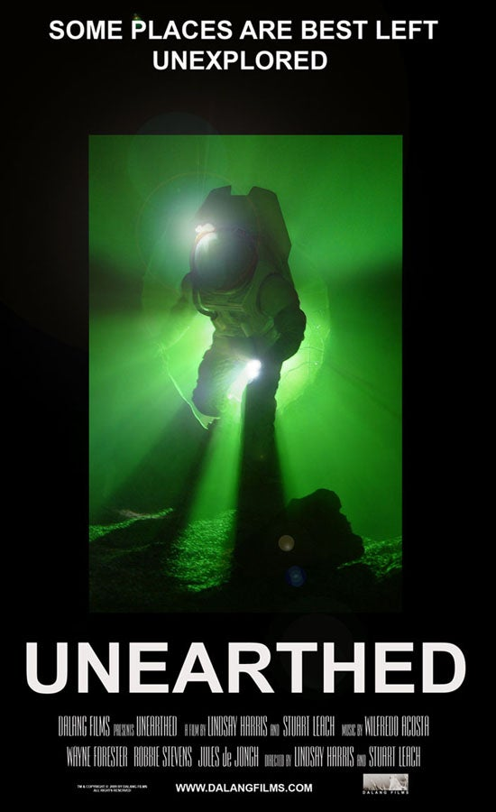 Trailer and poster for Unearthed could help restore your faith in space horror