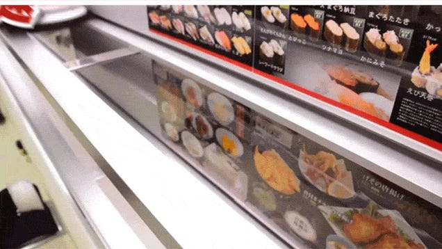 "Japan's ""High-Speed Sushi"" Is Amazing"