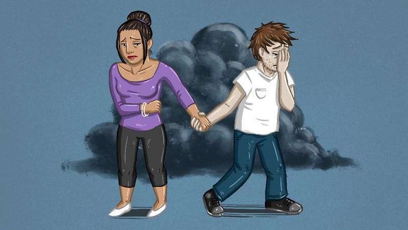 how to help your partner with depression