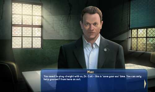 New CSI: NY Game Lets You Play TV Characters