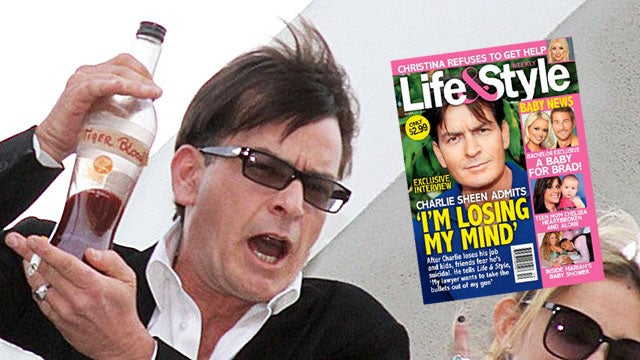 Charlie Sheen Finally Admits 'I'm Losing My Mind'