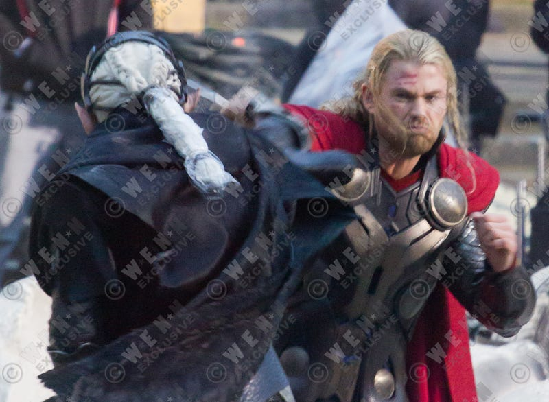 Thor 2 Set Photos from WENN.com
