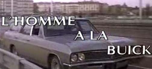Citroën-Driving French Cops Versus Buick Sport Wagon: L'homme à la Buick!