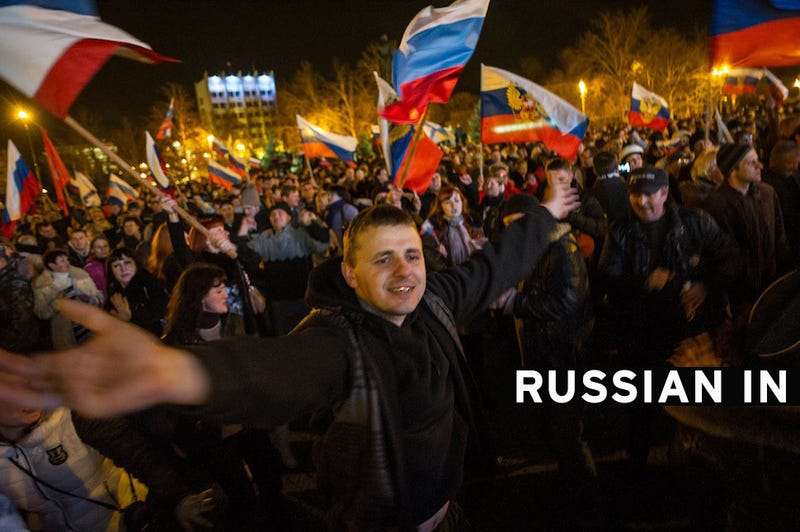 Crimean Parliament Declares Independence, Applies to Join Russia