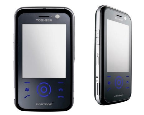 Toshiba G810 Windows Mobile Smartphone Looks Like the HTC Touch