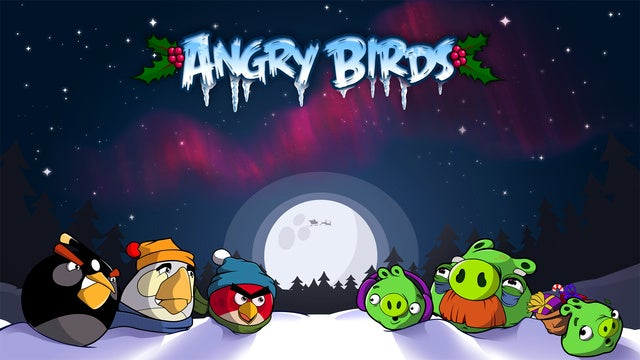 Get A New Angry Birds Level Every Day Until Christmas