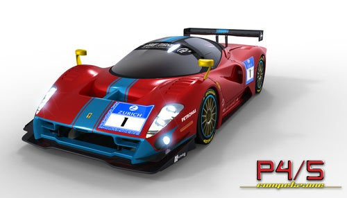 Ferrari P4/5 Competizione: First Look