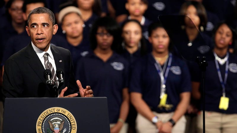 Chicago Teenager Shot and Killed Hours After Her Sister Sat Behind Obama at Speech About Gun Control