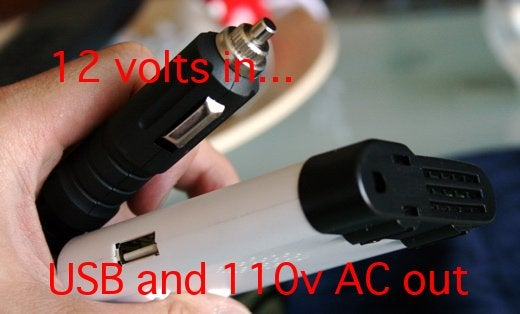 Review: Smart AC 120v/USB Inverter For the Car