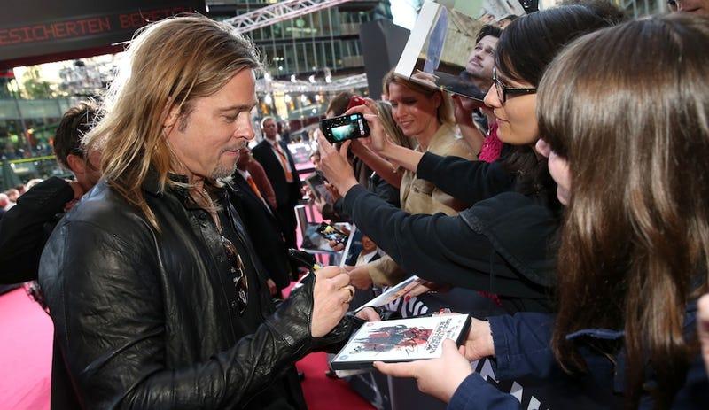 Brad Pitt's Identical Body Double Didn't Even Get an Autograph
