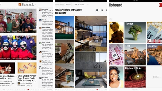 Flipboard's Getting Movies, TV Shows, Books, and an iPhone App